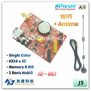 HD-W61 Wifi+USB Running Text Controller Card | 1024 x 32 - J05
