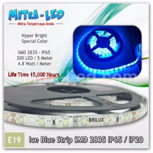 Ice Blue | PInk LED Strip SMD 2835 IP65 / IP20 Limited Edition - E19