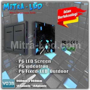 P5 Videotron Cabinet LED Screen Outdoor 960MM X 960MM - V03B