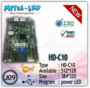 HD-C10 Videotron + Running Text Controller Card | 1024 x 256 Hub 75 - J09