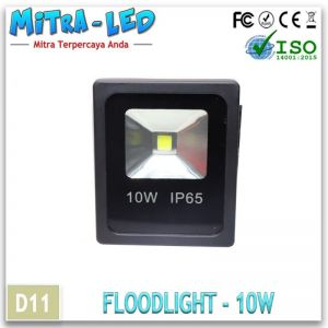 LED Floodlight Tembak 10Watt AC 220V IP65 Outdoor
