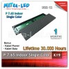 LED Panel Modul P7.65 Indoor MERAH - 48.8cm x 12.2cm - K19