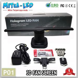 LED Fan Screen 3D Hologram Promo Murah Original - P01